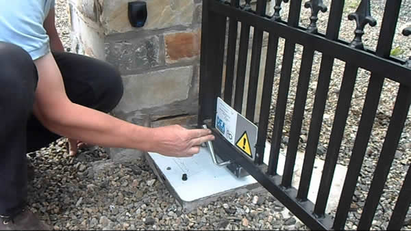 Underground Autogate For Swing Gate
