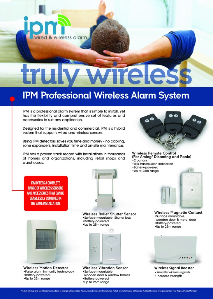 IPM Wireless Alarm System