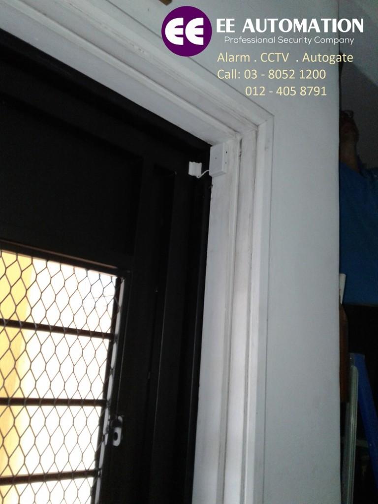 IPM wireless magnetic door sensor