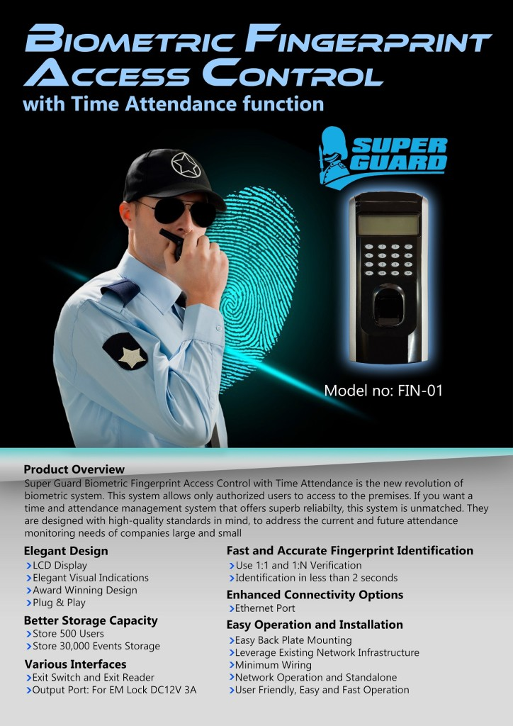 Fingerprint Door Access System KL Selangor