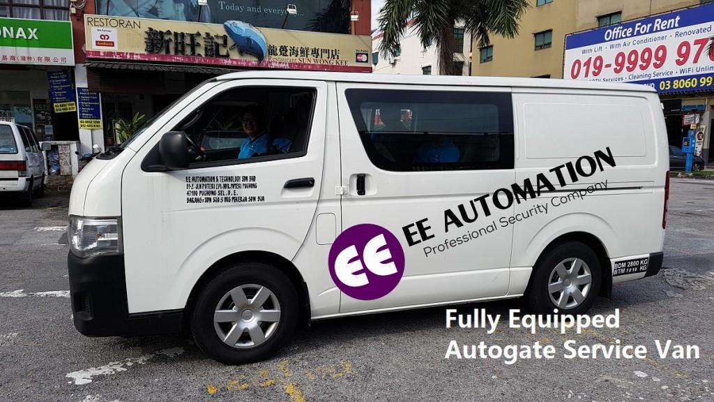 Autogate Installation Repair Van