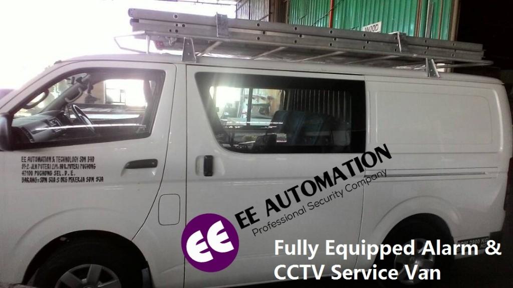 CCTV Installation and repair Van