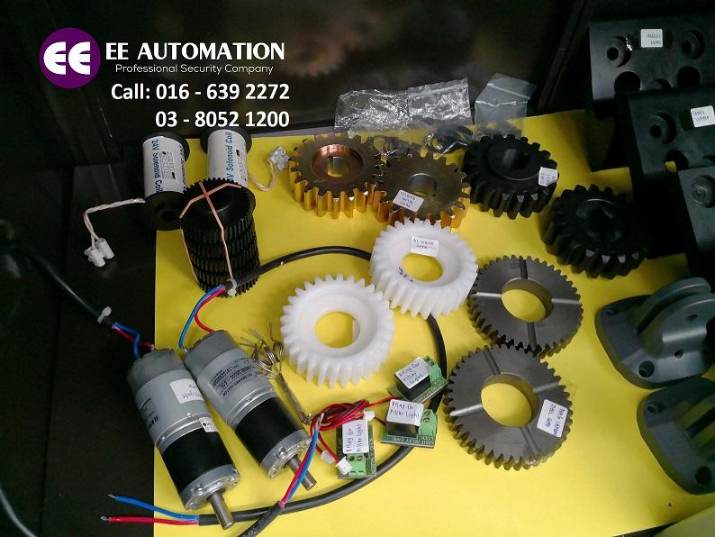 auto gate dc motor autogate gear