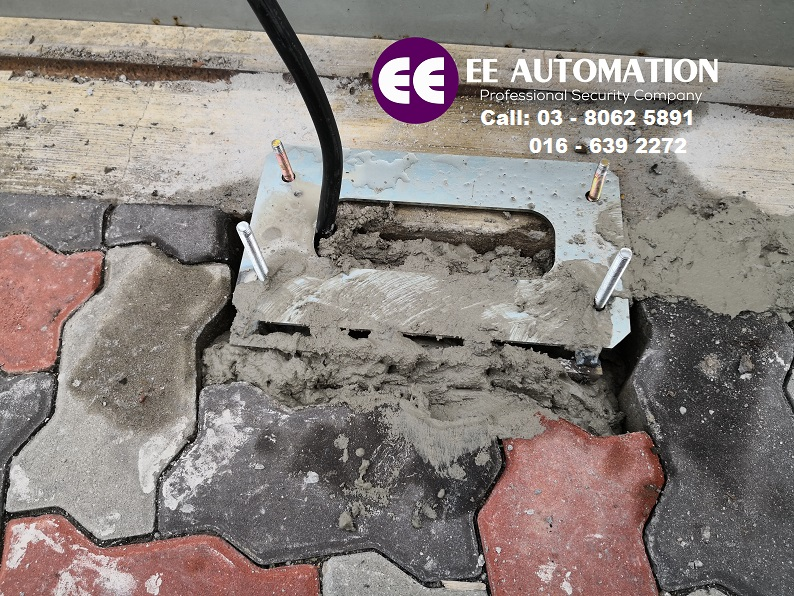 Footing Sliding Auto Gate Eeautomation