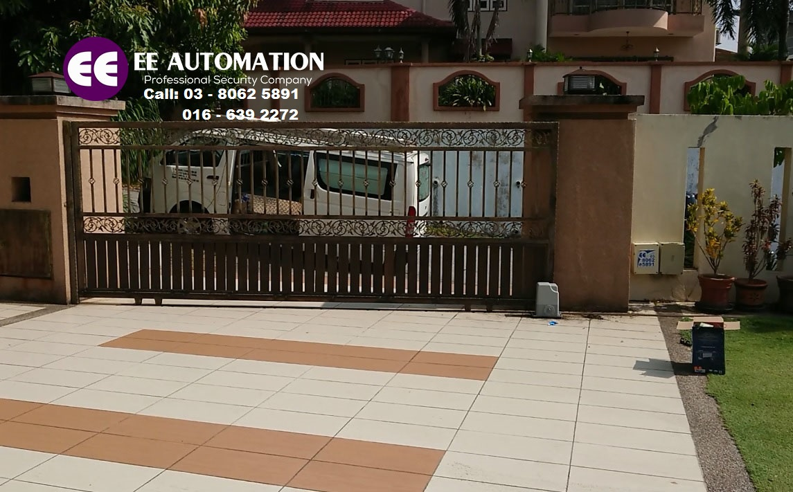 Our Latest Sliding Auto Gate System Model Fbm 328 Series